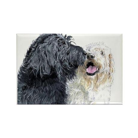 Doodle Love Rectangle Magnet (100 pack)
