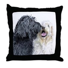 Labradoodle Love Throw Pillow