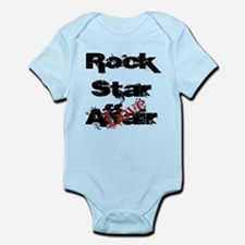 Rock Star Love Affair (blk) Infant Bodysuit