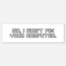 Cute Technical support Sticker (Bumper)