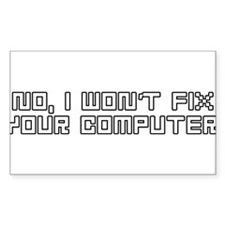 Cute Technical support Decal