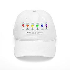 Wine Crawl Baseball Cap