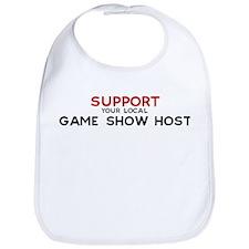 Support:  GAME SHOW HOST Bib