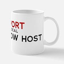 Support:  GAME SHOW HOST Mug
