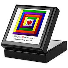 Quilt Square Keepsake Box