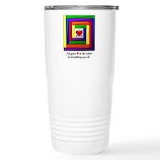 Quilt Square Travel Mug