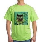 owls Green T-Shirt