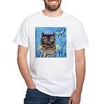 owls White T-Shirt