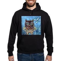 owls Hoodie (dark)