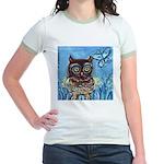 owls Jr. Ringer T-Shirt