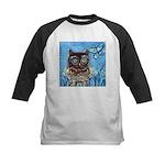 owls Kids Baseball Jersey