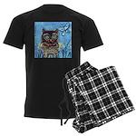 owls Men's Dark Pajamas