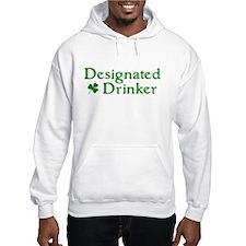 Designated Drinker Irish Hoodie
