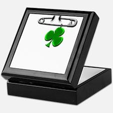 Cute Irish pins Keepsake Box
