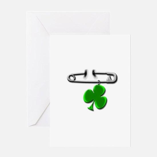 Unique Irish dancers Greeting Card