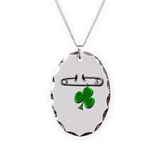 Cute Shamrock pins Necklace