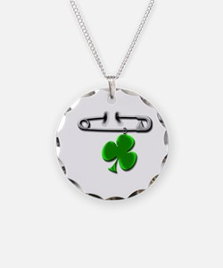 Cute Irish dancer Necklace Circle Charm