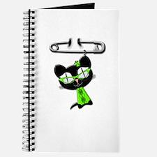 Irish Kitty Charm Journal