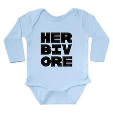 Pro Herbivore Long Sleeve Infant Bodysuit