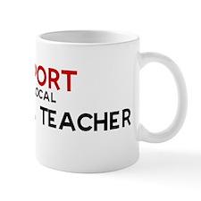 Support:  BILINGUAL TEACHER Mug