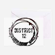 District 12 Hunger Games Gear Greeting Card