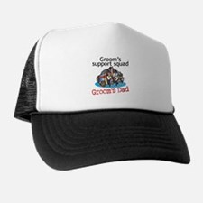 Father of Groom Trucker Hat