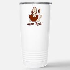 Retro Aunts Rock Travel Mug