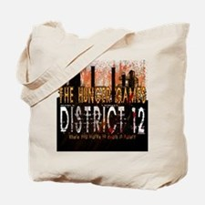 District 12 Mining Hunger Games Gear Tote Bag