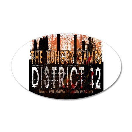 District 12 Mining Hunger Games Gear 38.5 x 24.5 O