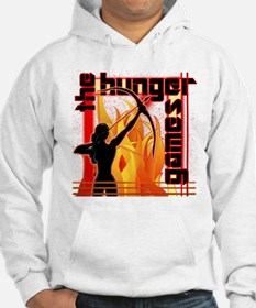 Katniss on Fire Hunger Games Gear Hoodie