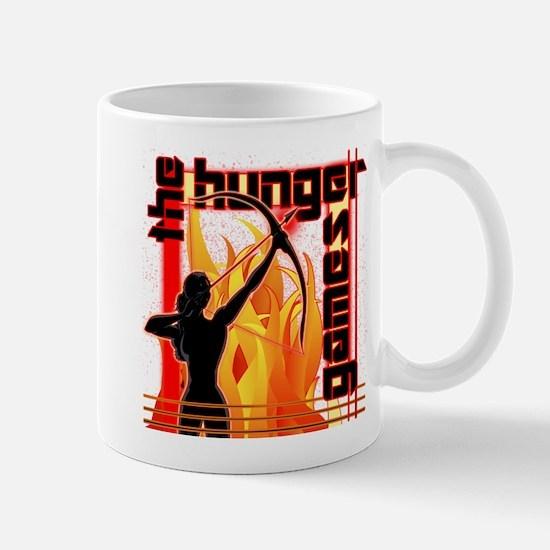 Katniss on Fire Hunger Games Gear Mug