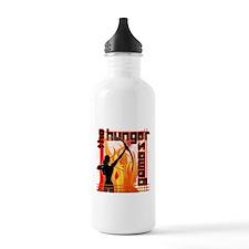 Katniss on Fire Hunger Games Gear Water Bottle