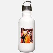 Katniss on Fire Hunger Games Gear Water Bottle