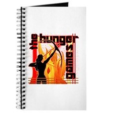 Katniss on Fire Hunger Games Gear Journal