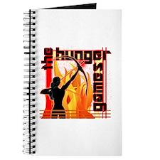Katniss on Fire Hunger Games Gear Journal