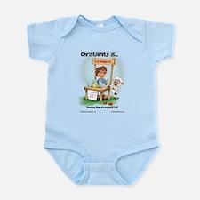 Half Full Infant Bodysuit
