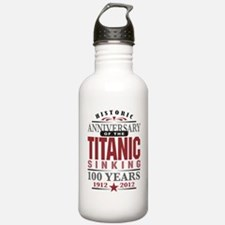 Titanic Sinking Anniversary Water Bottle