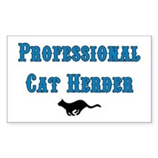 Professional Cat Herder Decal