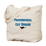 Professional cat herder Canvas Bags