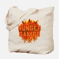 Hunger Games Gear On Fire Tote Bag