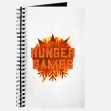 Hunger Games Gear On Fire Journal