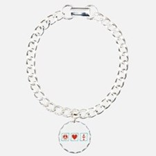 Peace, Love and Unitarianism Bracelet