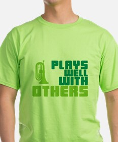 Marching Baritone Plays Well T-Shirt