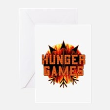 Hunger Games Heat Greeting Card