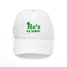 Irish Couple He's My Laddie Baseball Cap