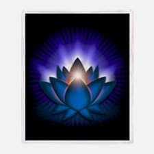 "Blue ""Throat"" Chakra Lotus Stadium Blan"