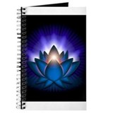Blue lotus Journals & Spiral Notebooks