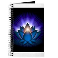 "Blue ""Throat"" Chakra Lotus Journal"