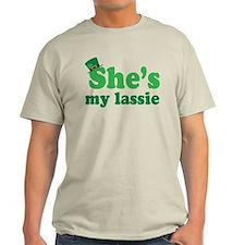 Irish Couple She's My Lassie T-Shirt
