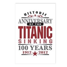 Titanic Sinking Anniversary Postcards (Package of